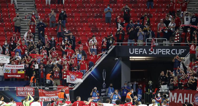 Retour du public en compétitions européennes, jauge limitée à 30%