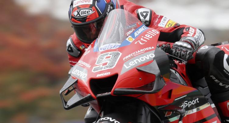 GP de France: Petrucci s'impose sous la pluie