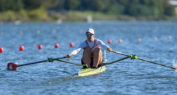 Jeannine Gmelin seulement 5e en skiff