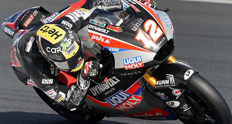 GP de France: Lüthi égale son meilleur résultat de la saison