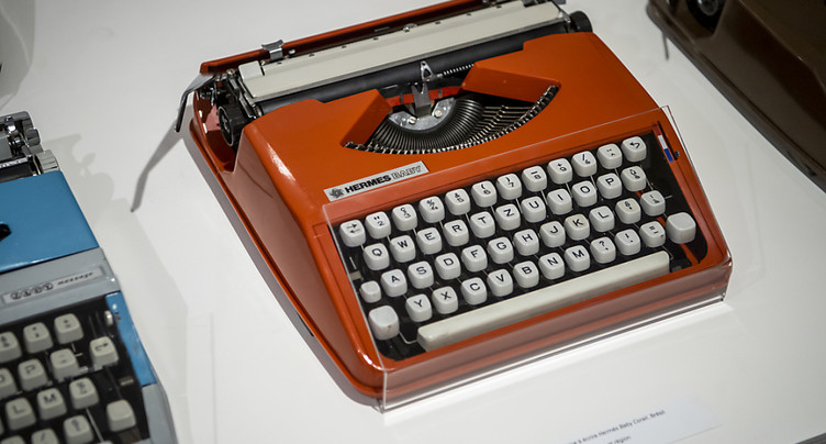 La machine à écrire vaut bien une exposition à Yverdon-les-Bains