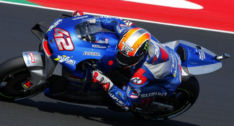 MotoGP: Alex Rins remporte le GP d'Aragon
