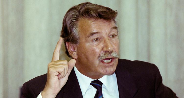 Décès de l'ancien conseiller fédéral René Felber