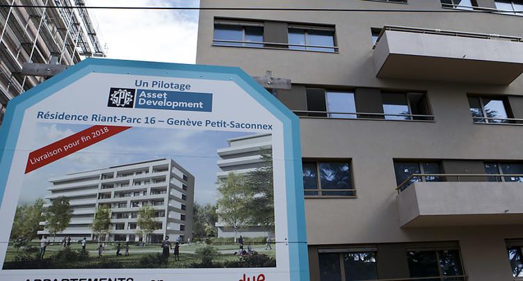 Risque immobilier en baisse mais toujours élevé au 3e trimestre