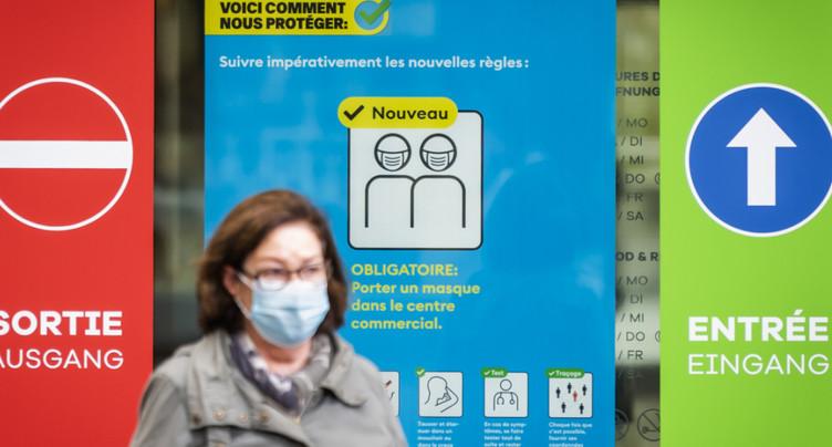 La Suisse compte 8737 nouveaux cas de coronavirus en 72 heures