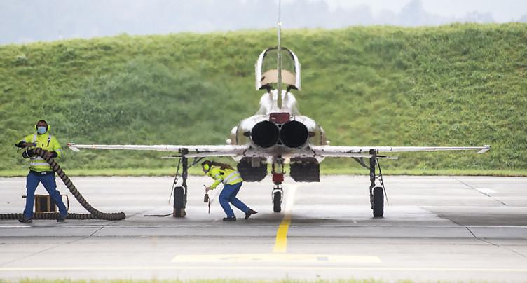 Patrouille Suisse: des vols d'entraînement au-dessus de Payerne
