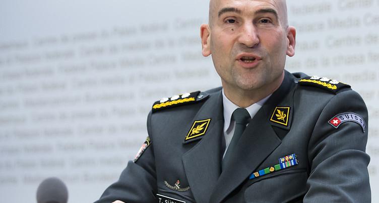 Le chef de l'Armée testé positif au Covid-19