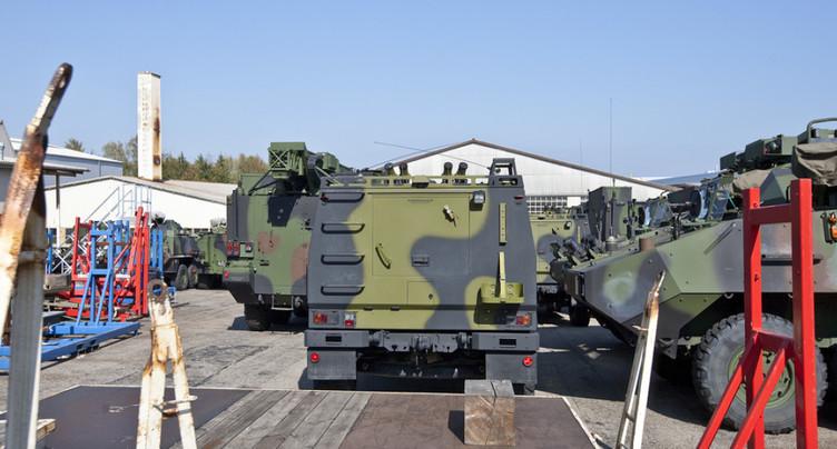 Exportations de matériel de guerre pour 690 millions sur neuf mois