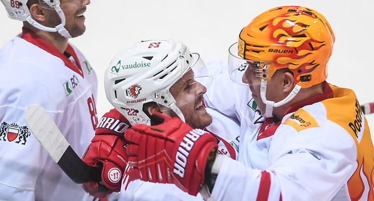 Lausanne revient de loin, Bienne battu dans le derby