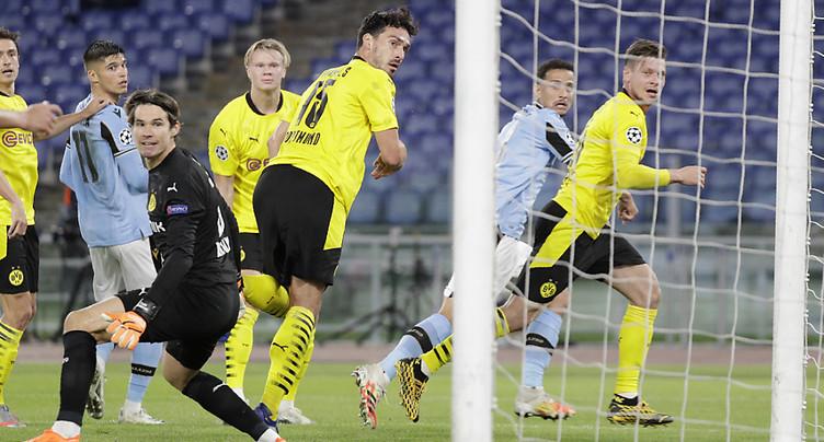 Dortmund et Paris battus d'entrée