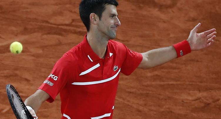 Djokovic renonce à Paris-Bercy