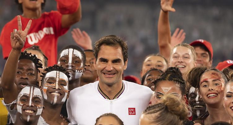 Federer peut s'entraîner deux heures par séance