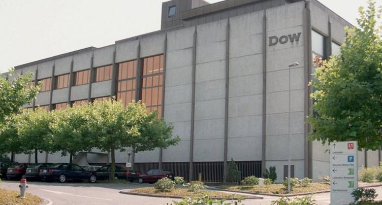 Dow supprime 118 emplois à son siège européen de Horgen