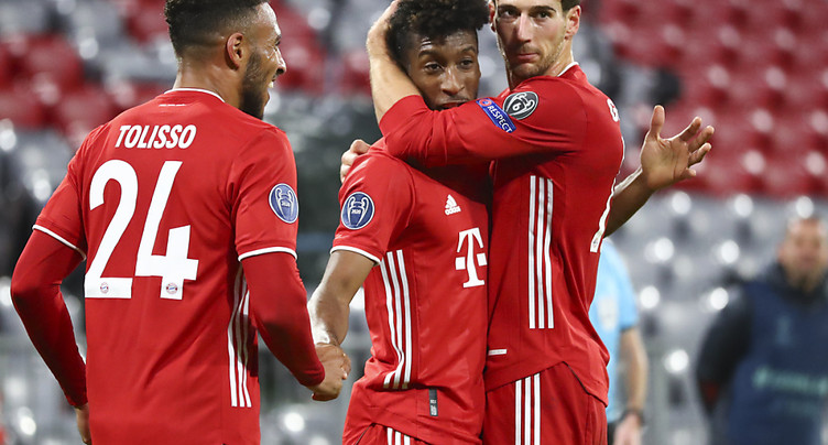 Coman et le Bayern toujours aussi irrésistibles