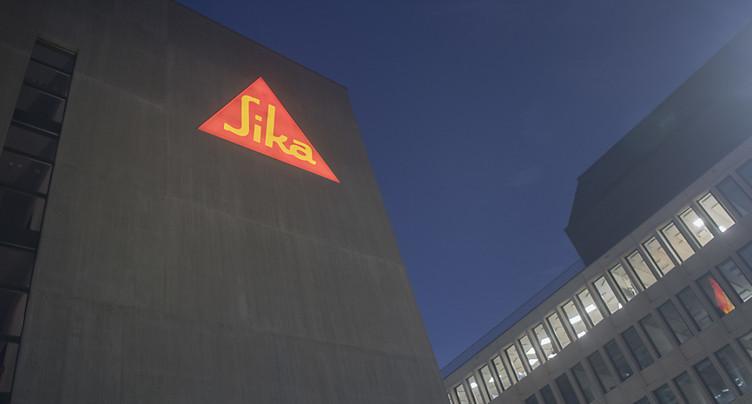 Sika: repli des ventes et de la rentabilité sur 9 mois