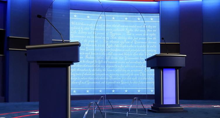 Trump retrouve Biden pour un débat sous haute tension