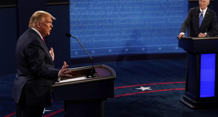 Début du dernier débat entre Trump et Biden à 12 jours du scrutin