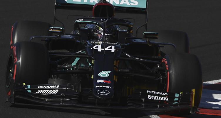 F1: une 97e pole position pour Lewis Hamilton