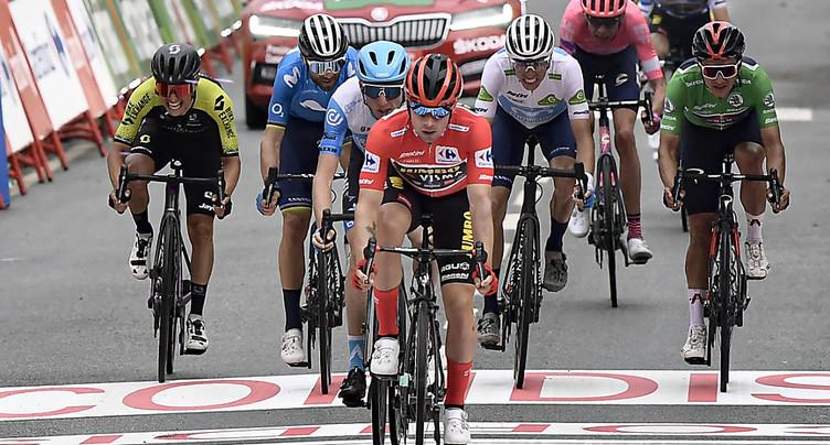 Wellens remporte la 5e étape, Roglic toujours leader
