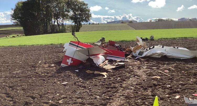 Un petit avion de tourisme s'écrase à Gimel et fait une victime