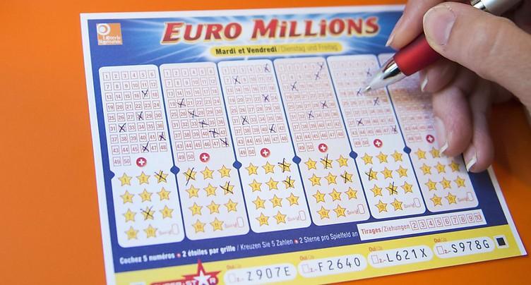 Le tirage de l'Euromillions n'a pas fait de millionnaire