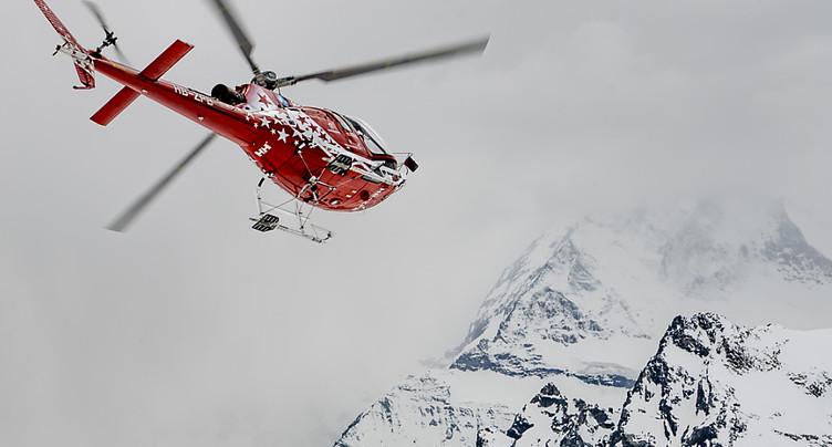 Un hélico s'écrase vers le Breithorn: un mort et un survivant