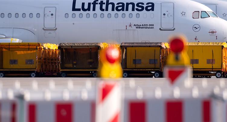 Jusqu'à 30'000 emplois menacés chez Lufthansa