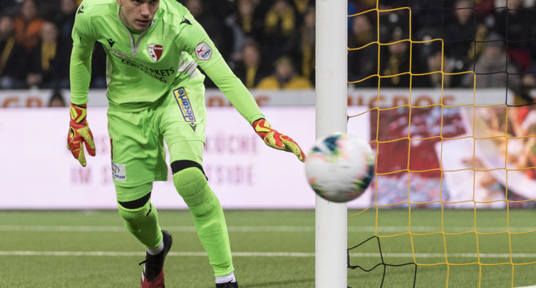L'ancien gardien de Sion Mitryushkin à Fortuna Düsseldorf