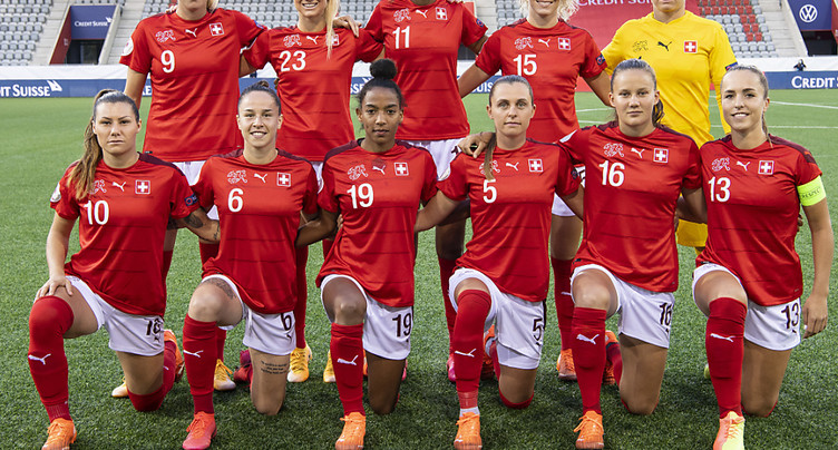 Qualification de l'Euro dames: la Suisse gagne en Roumanie
