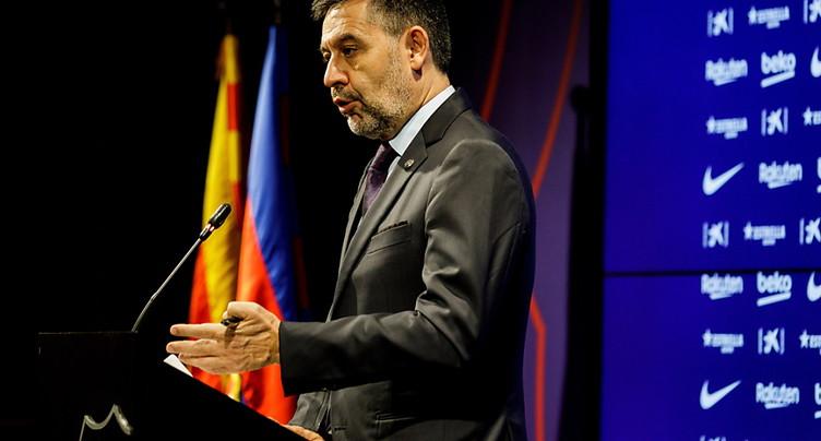 FC Barcelone: le président Bartomeu annonce son départ