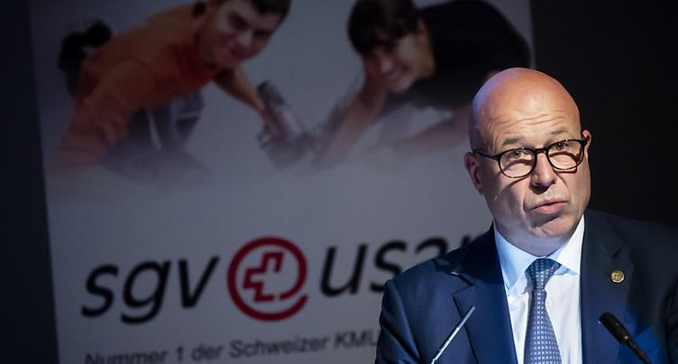 Fabio Regazzi a été élu à la tête de l'USAM