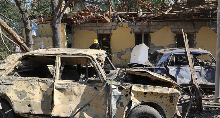 L'Azerbaïdjan accuse l'Arménie d'avoir tué 21 civils
