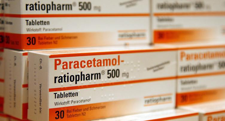 Hausse des intoxications au paracétamol en Suisse