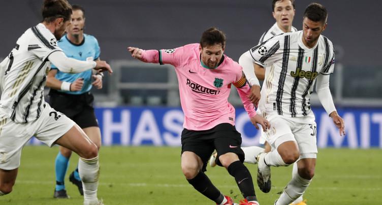 Le Barça de Messi l'emporte sur une Juve sans Ronaldo