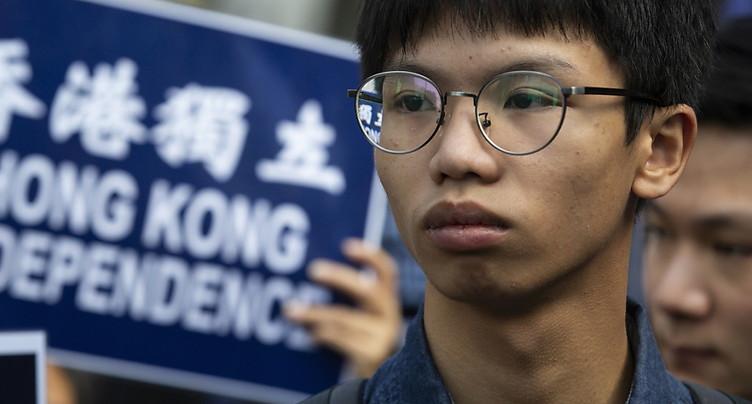 Le jeune militant hongkongais Tony Chung accusé de « sécession »