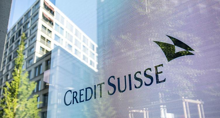 Credit Suisse, en recul au 3e trimestre, rassure ses actionnaires