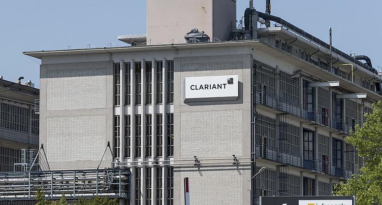 Résultats trimestriels en baisse pour Clariant