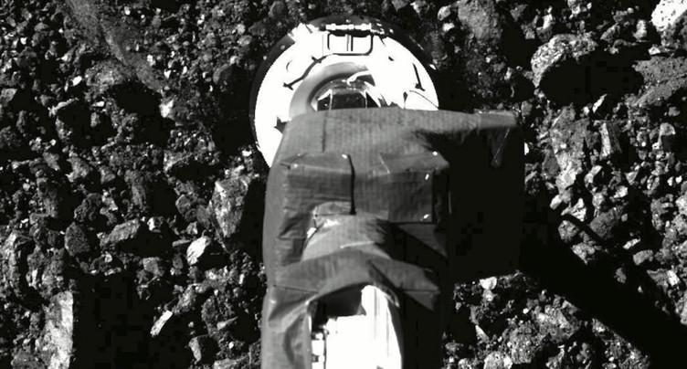 La sonde Osiris-Rex a réussi à sécuriser ses poussières d'astéroïde