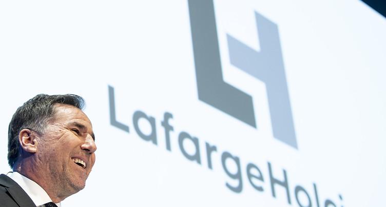 Lafargeholcim: mieux que prévu et confiant pour 2020