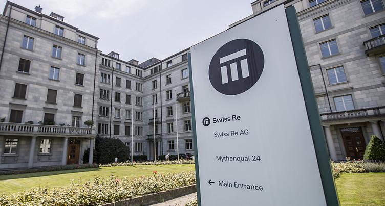 Swiss Re a limité les dégâts au troisième trimestre