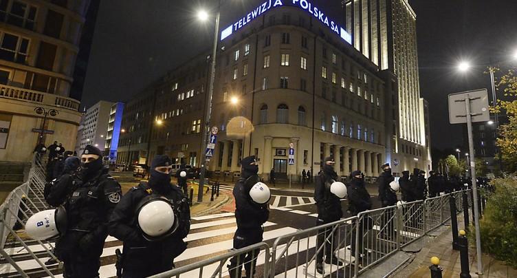 Manifestation à Varsovie pour le droit à l'avortement