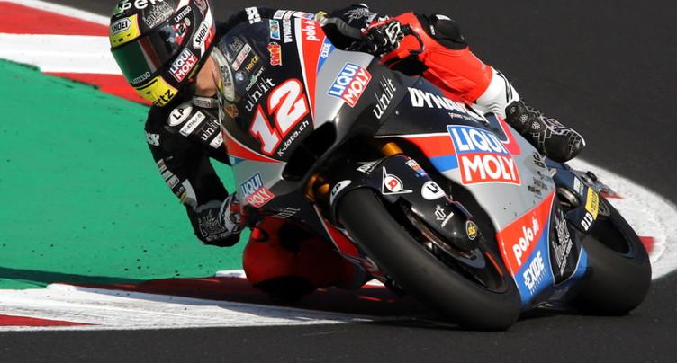 GP de Valence: Lüthi et Dupasquier hors du top 15