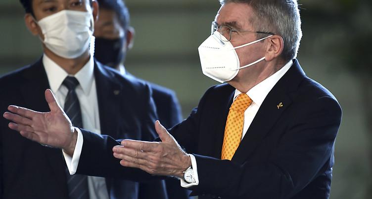 JO: président du CIO « très confiant » sur la présence de spectateurs