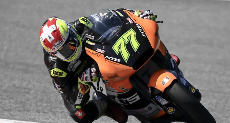 Moto2: Dominique Aegerter en selle à Portimão