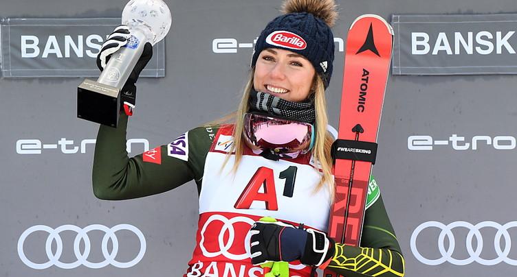 Mikaela Shiffrin s'estime « capable » de skier vite à Levi