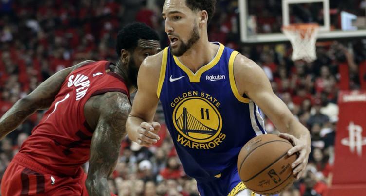 Warriors: rupture d'un tendon d'Achille pour Thompson