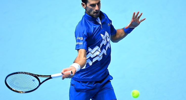 Djokovic dans le dernier carré