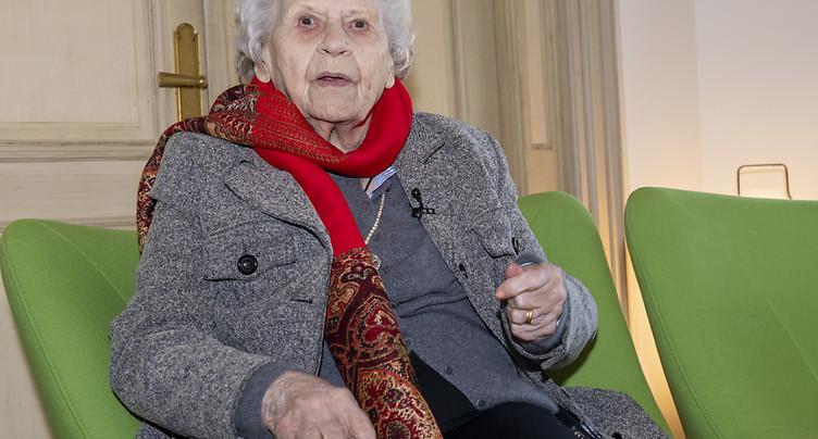 La résistante et déportée Noëlla Rouget est décédée