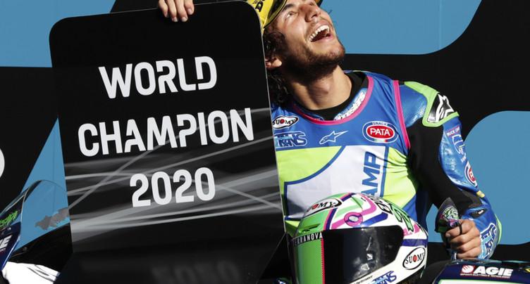 GP du Portugal: Bastianini sacré en Moto2, Lüthi 16e