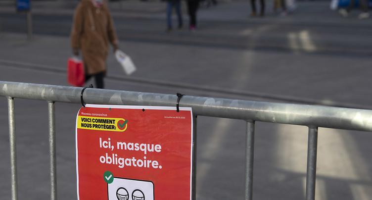 Genève: des infractions au semi-confinement
